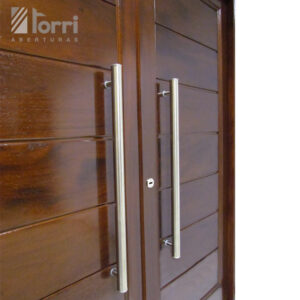 Puerta doble madera oblak modelo 2331 de 160 200 for Puertas dobles para exterior
