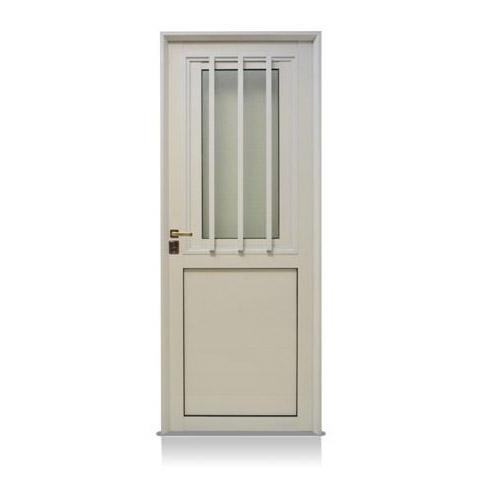 Puerta aluminio blanco reforzada modelo 150 de 080 200 - Modelo de puertas de aluminio ...