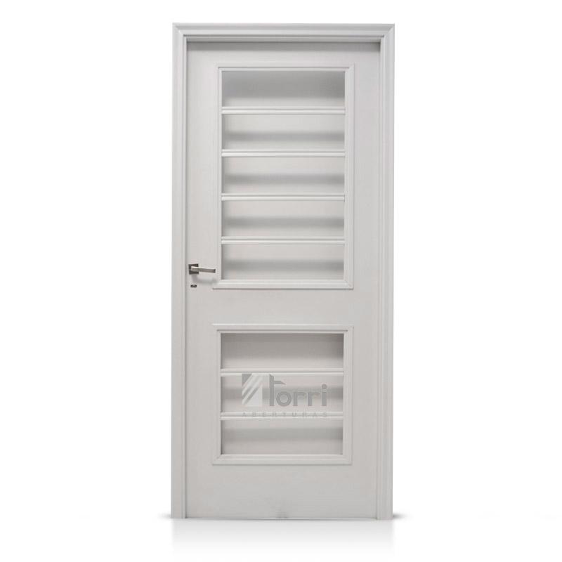 Puerta oblak chapa pintada horno modelo 1753 blanca 080 - Puertas para porches ...