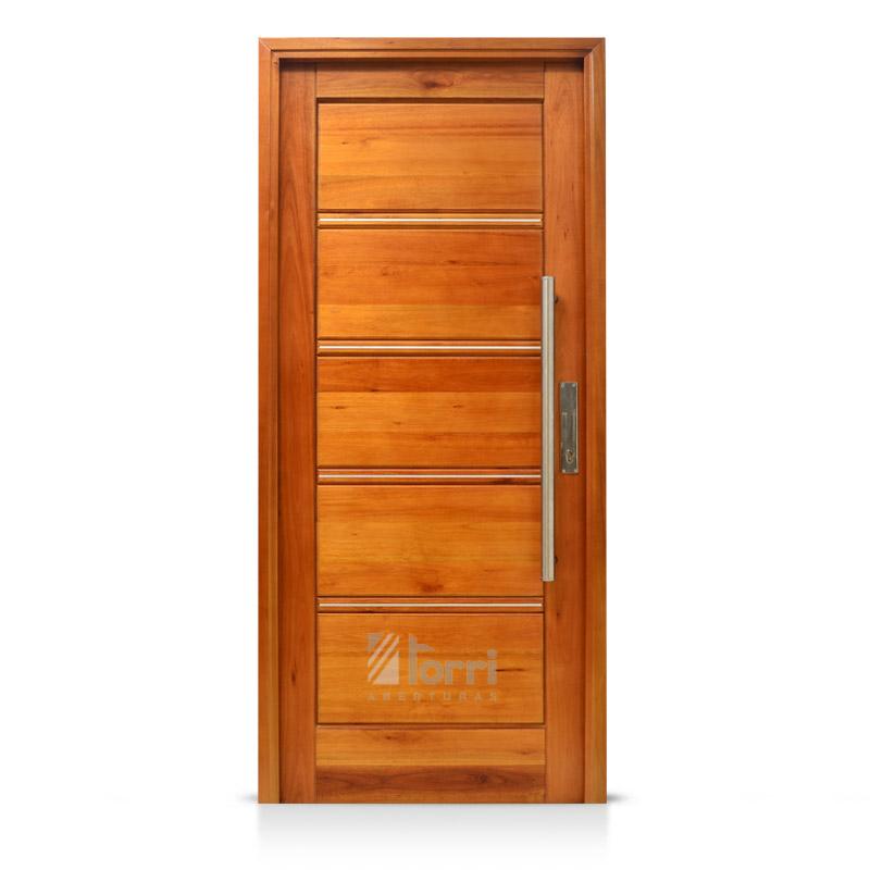 Puerta madera oblak tekna 1309 de 080 x 200 cedro - Puertas exteriores madera ...