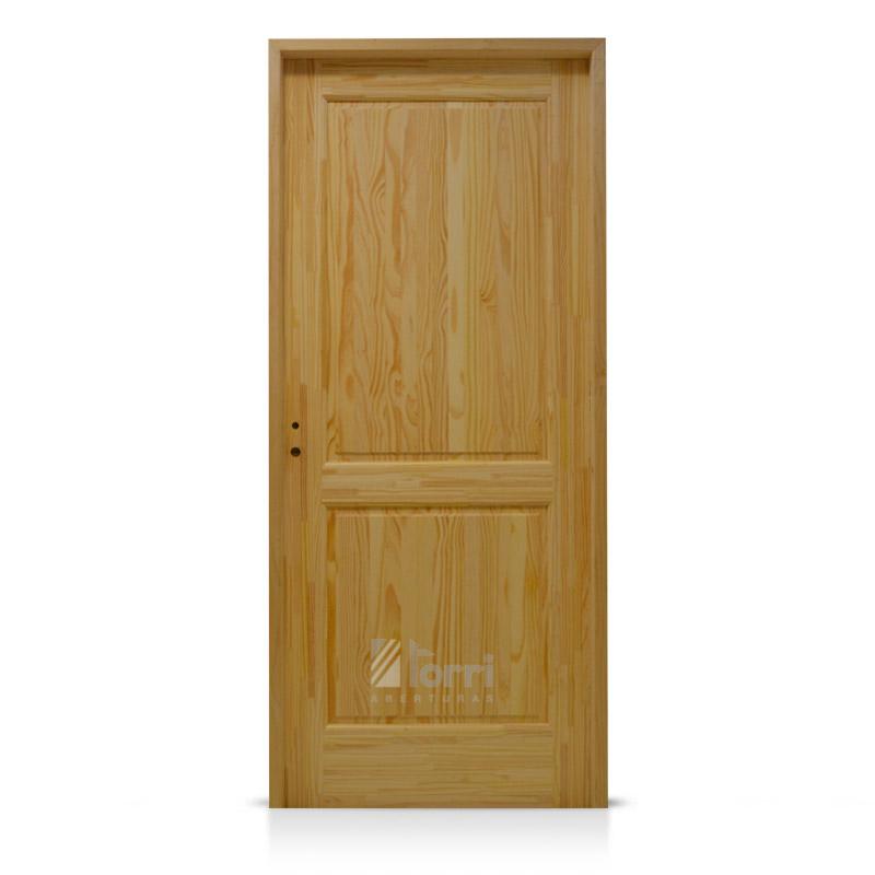 Puerta pino macizo 2 tableros medidas 0 60 0 70 0 80 x for Puertas 75 x 200