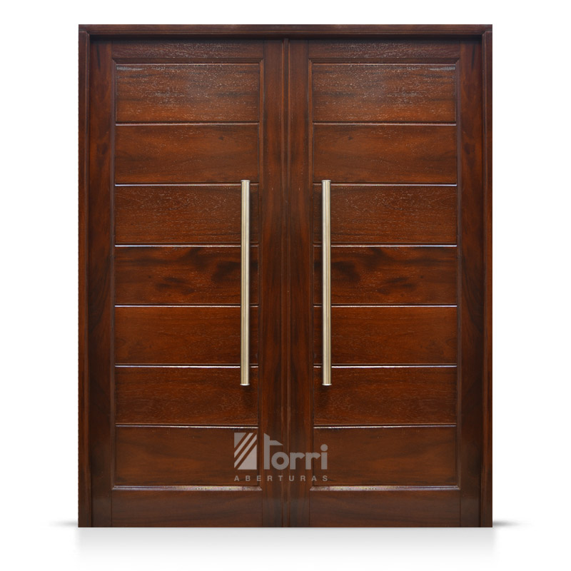puerta doble de timb de 1 60 x 2 00 con barrales aberturas torri. Black Bedroom Furniture Sets. Home Design Ideas