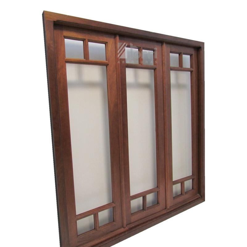 ventana de madera modelo buenos aires 150 x 170