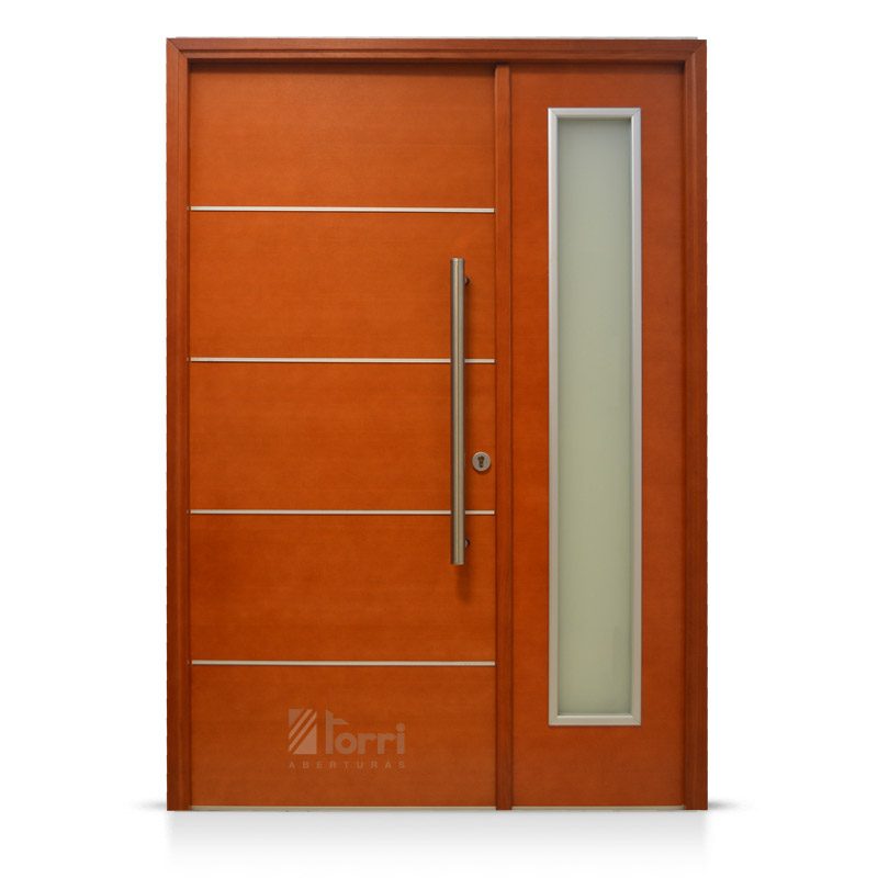 Puertas exterior cheap sheet consisting of two sheets of - Puertas exteriores de madera ...