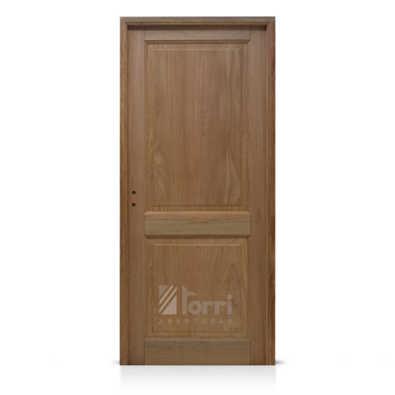Puerta madera cedro rey modelo 2 tableros rectos de 080 - Modelo de puertas de madera ...