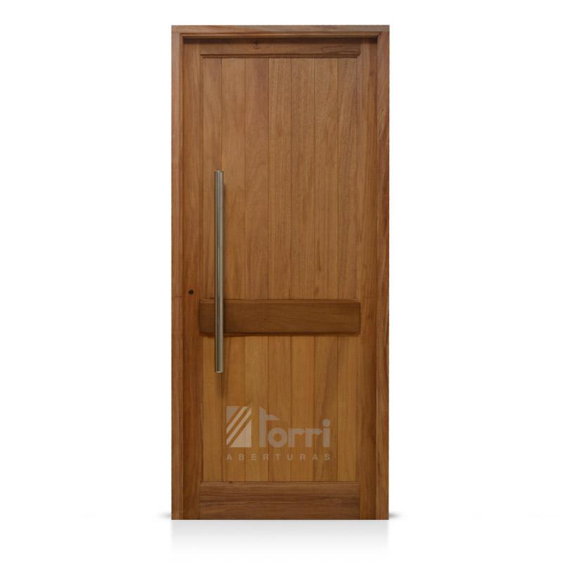 Puerta madera timbo modelo machimbre vertical de 080 200 - Portones de madera para exterior ...
