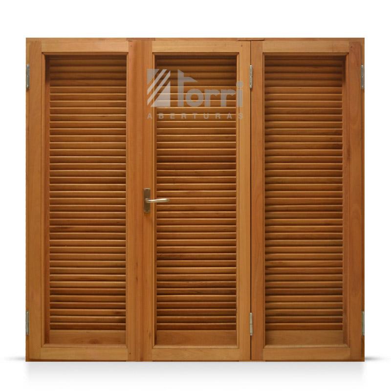 Ventanas de madera aberturas torri - Celosias para ventanas ...