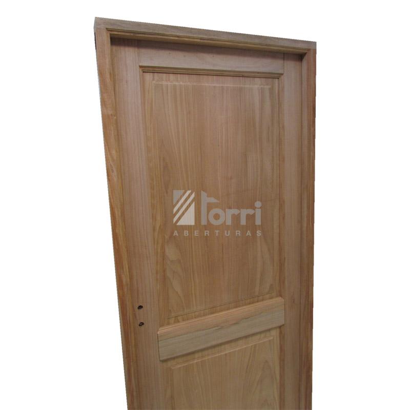 puerta madera cedro rey modelo tableros rectos de