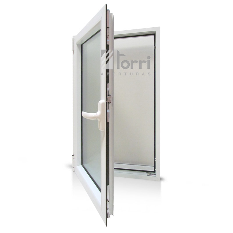 Raja aluminio blanco modena oscilobatiente de 060 x 100 c for Aberturas de aluminio blanco precios rosario