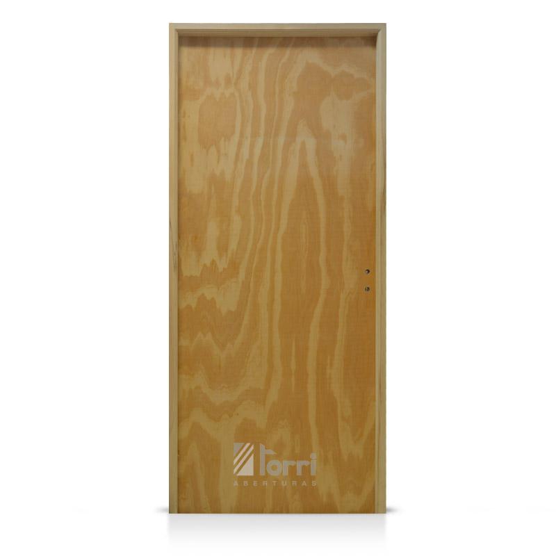 Puerta placa cedro marco aluminio blanco de 070 200 for Puerta de madera con marco