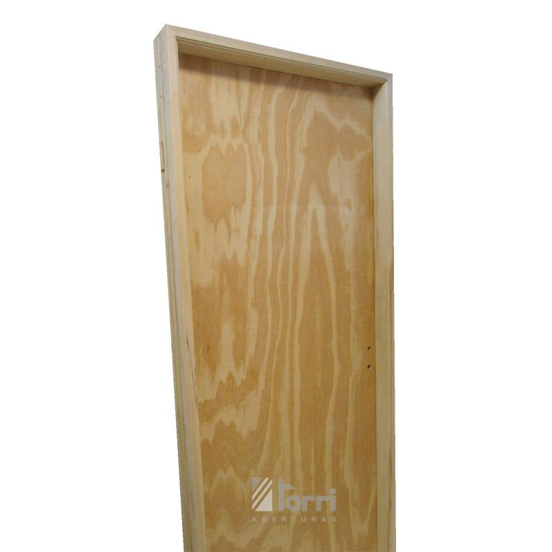 puerta placa pino marco de madera de