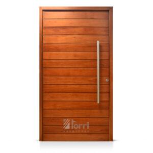 Puerta Pino Macizo 1 2 Vidrio Repartido Medidas 0 70 Y 0 80