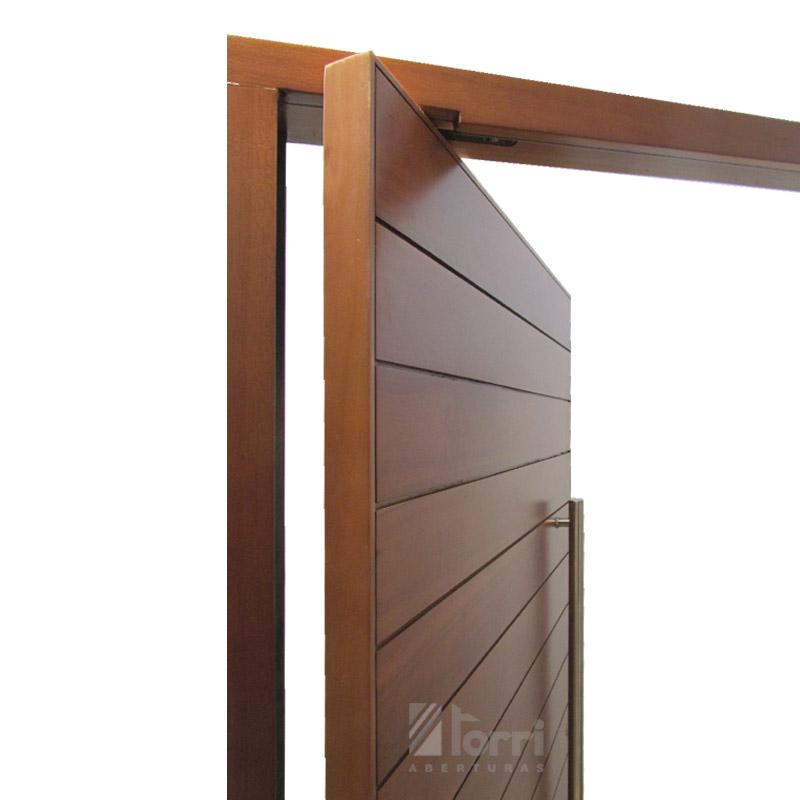 Puerta de madera pivotante modelo tavernelle de 120 220 for Modelos de puertas madera con vidrio