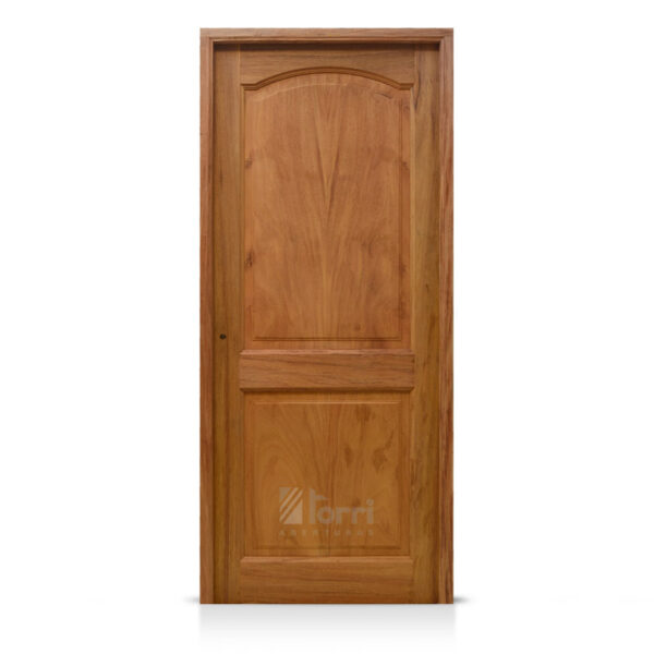 Puerta madera timbo modelo 2 tableros rectos de 080 200 for Puertas 75 x 200
