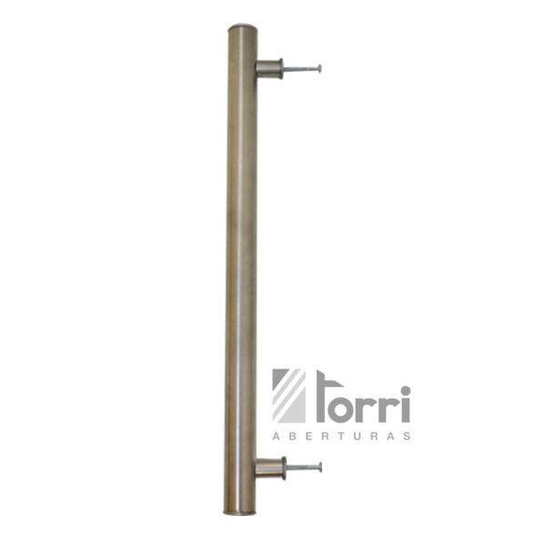 Barral de acero inoxidable de 80cm para puerta aberturas for Puerta balcon aluminio rosario