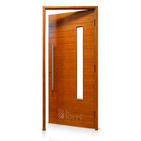 Puerta madera oblak modelo 2338 de 080 200 aberturas torri for Modelos de puertas de frente de madera