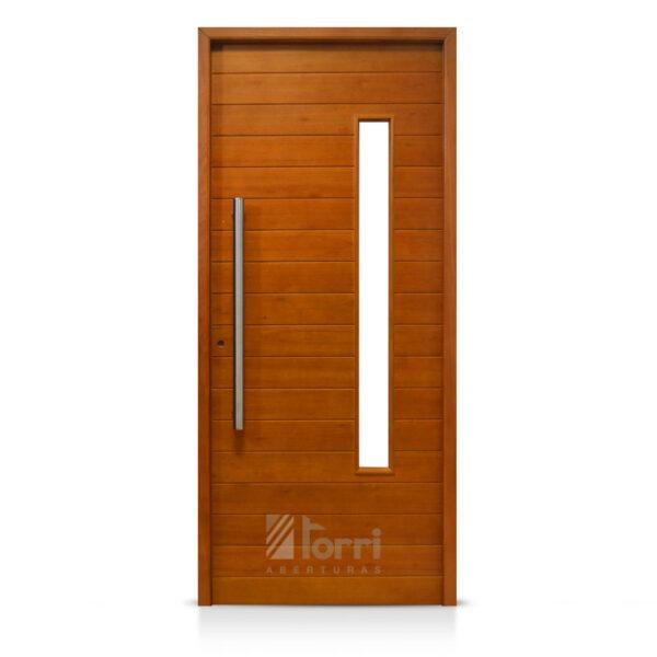 Puerta madera oblak modelo 2338 de 080 200 aberturas torri for Aberturas de madera en rosario precios