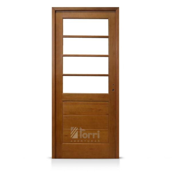 Puerta madera oblak modelo 2346 de 080 x 200 aberturas torri for Puertas 75 x 200