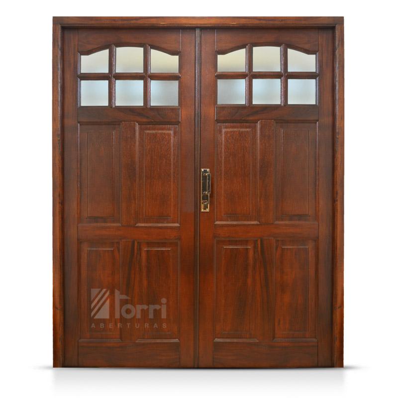 Aberturas torri con m s de 25 a os de trayectoria for Puertas de madera en oferta